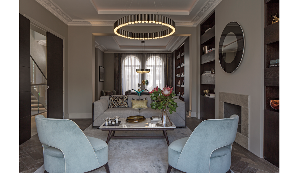 Project Name Notting Hill Villa Location Notting Hill London Date - Notting-hill-house-interior-by-staffan-tollgard-design-group