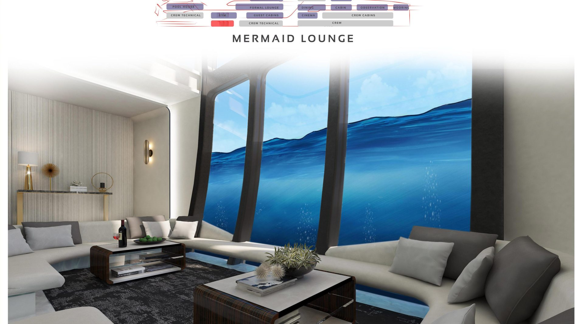 Preview of the Mermaid Lounge